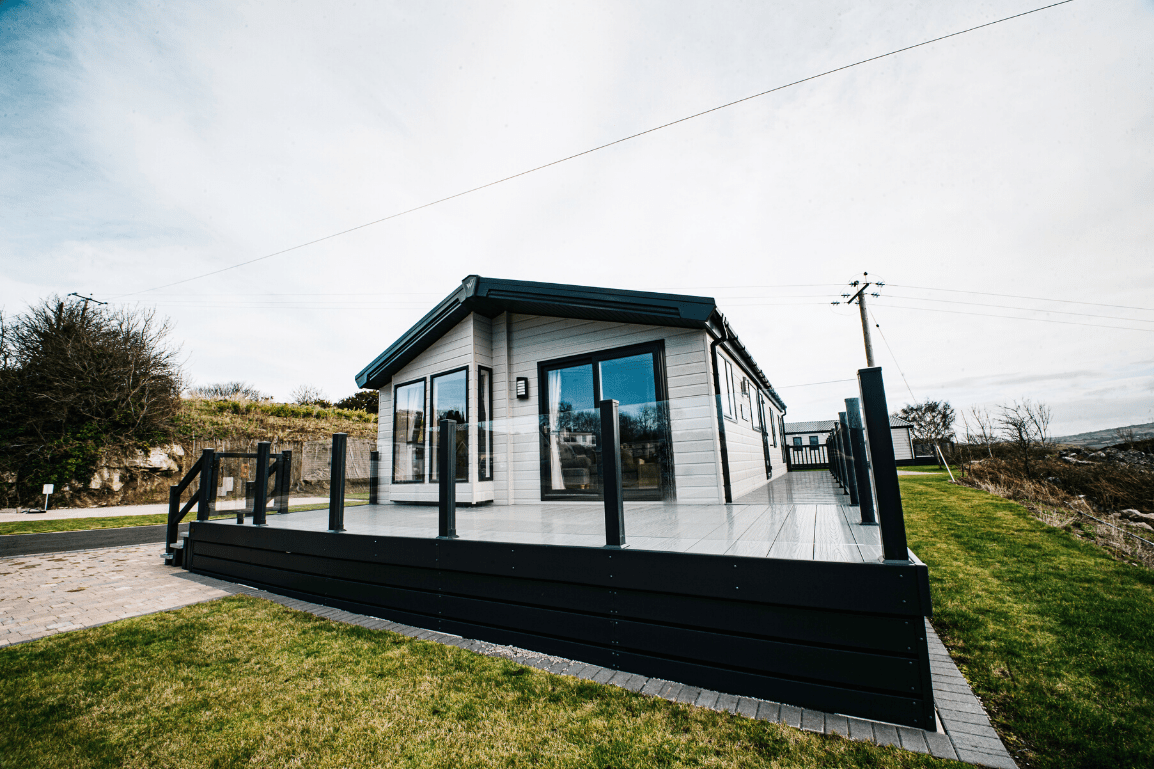 New 2019 Willerby Portland Lodge 40ft x 20ft - 2 Bedroom Holiday Lodge For Sale at Bryn Defaid Lodge & Caravan Park - Caravan Park in North Wales