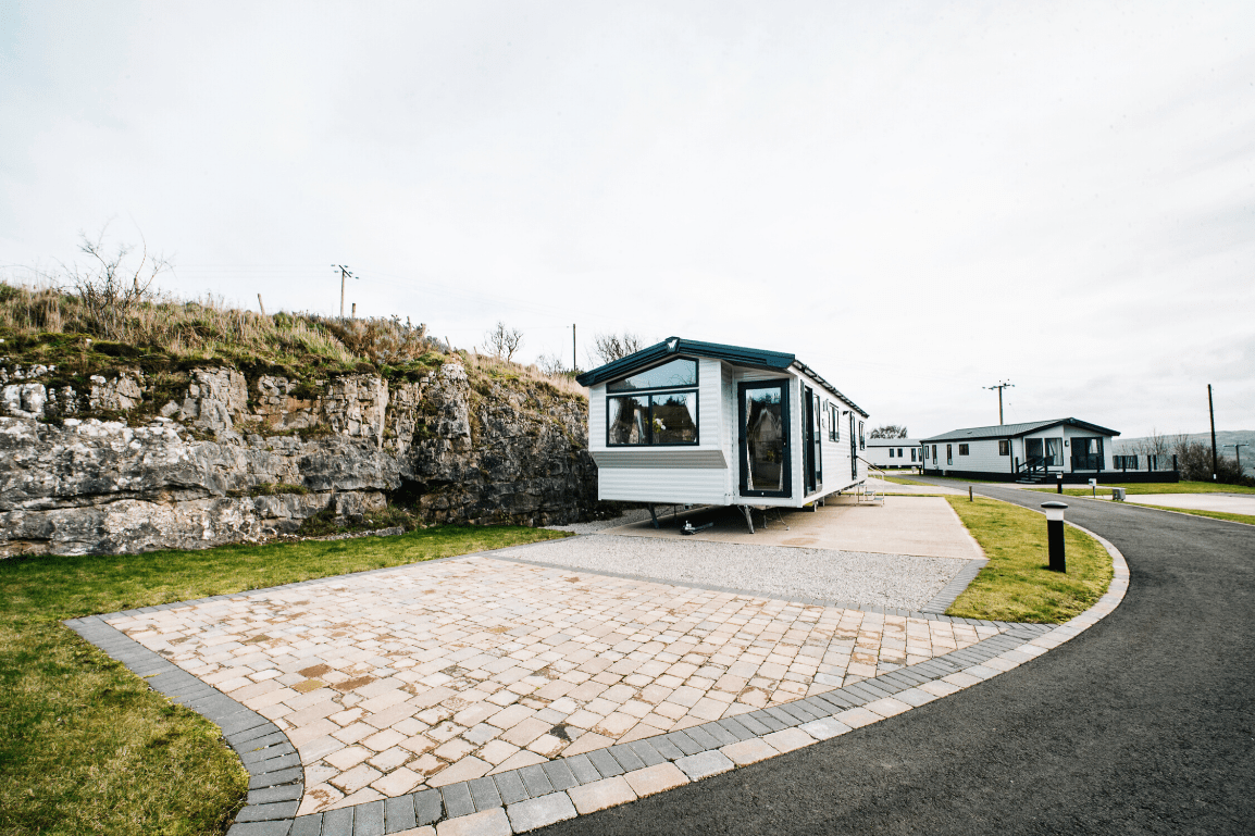 NEW 2020 Willerby Castleton 38ft x 12ft - 2 bed Static Caravan Holiday Home Sited on caravan park in North Wales - Bryn Defaid Lodge & Caravan Park - Exterior