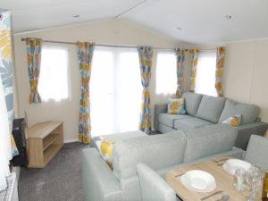 NEW 2020 Willerby Castleton 38ft x 12ft - 2 bed Static Caravan Holiday Home Sited on caravan park in North Wales - Bryn Defaid Lodge & Caravan Park - Kitchen