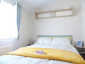 NEW 2020 Willerby Castleton 38ft x 12ft - 2 bed Static Caravan Holiday Home Sited on caravan park in North Wales - Bryn Defaid Lodge & Caravan Park - Master bedroom with ensuite shower room