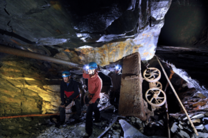 Things To Do In North Wales This Mothers Day - Go Below Underground Adventures Conwy Falls Forest Park Pentrefoelas Rd, Betws-y-Coed LL24 0PN 01690 710108