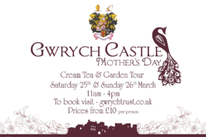 Things To Do In North Wales This Mothers Day - Gwrych Castle Llanddulas Road, Abergele, Conwy LL22 7TL - Mother's Day Price from £15 per person (£10 under 16). 22nd March 2020