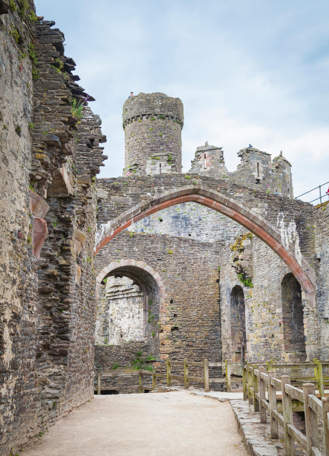 Castles and Town Walls of King Edward I - Conwy Castle