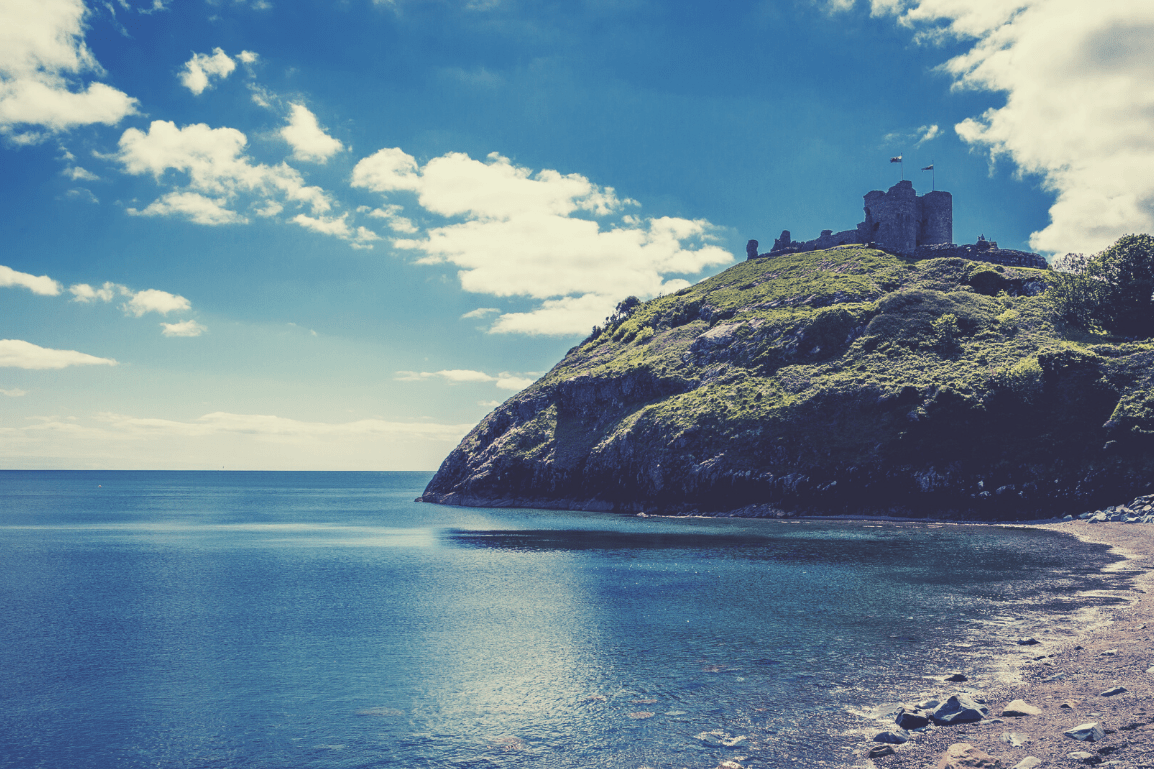 The 24 Most Breathtaking and Illustrious Castles to Visit in North Wales: Featuring 'I'm a Celebrity Get me Out of Here –Gwrych Castle' and why they Must be Explored -  Criccieth Castle, Gwynedd, North Wales