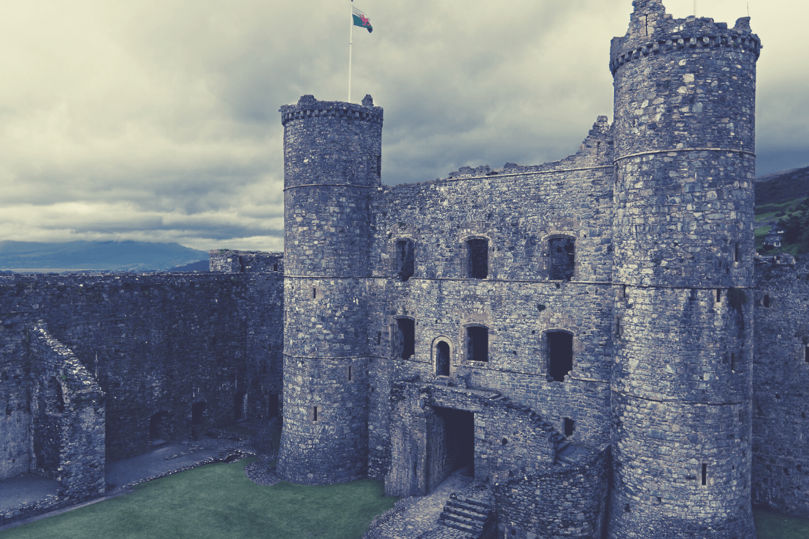 The 24 Most Breathtaking and Illustrious Castles to Visit in North Wales: Featuring 'I'm a Celebrity Get me Out of Here –Gwrych Castle' and why they Must be Explored -  Harlech Castle, Harlech, North Wales