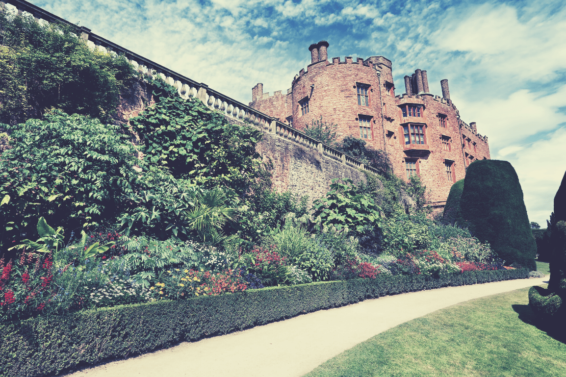 The 24 Most Breathtaking and Illustrious Castles to Visit in North Wales: Featuring 'I'm a Celebrity Get me Out of Here –Gwrych Castle' and why they Must be Explored - Powis Castle, Powys, Mid Wales
