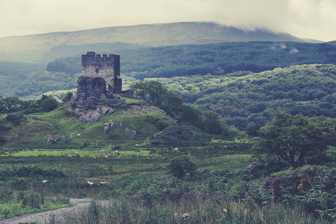 The 24 Most Breathtaking and Illustrious Castles to Visit in North Wales: Featuring 'I'm a Celebrity Get me Out of Here –Gwrych Castle' and why they Must be Explored - Dolwyddelan Castle, North Wales