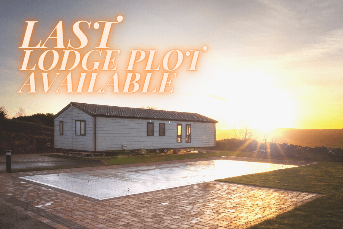 Only one lodge plot now available at Bryn Defaid Lodge and Caravan Park, Nr Abergele, North Wales