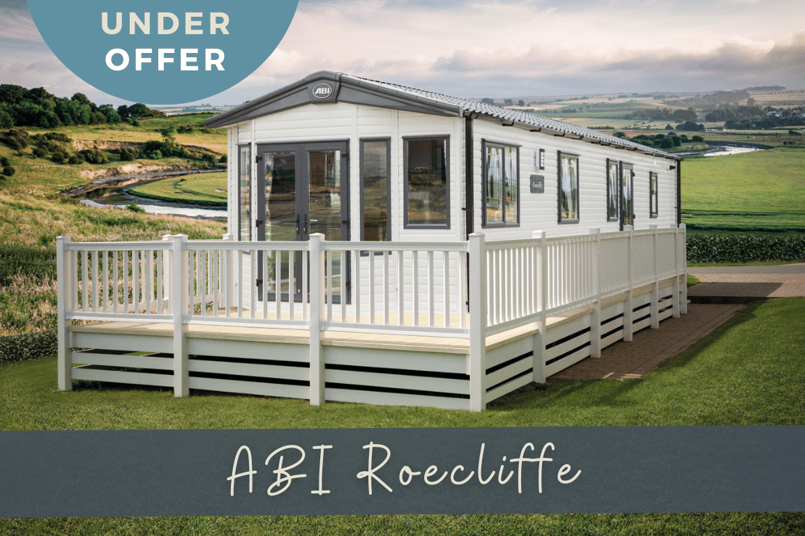 New 2021 ABI Roecliffe 39ft x 12ft - 2 Bed Static Caravan Holiday Home For Sale at Bryn Defaid Lodge and Caravan Park, Nr Abergele North Wales - Lounge View - under offer