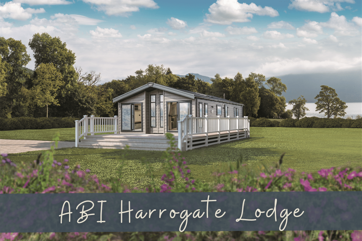 New 2021 ABI Harrogate Lodge 41ft x 20ft - 2 Bedroom. Factory Order