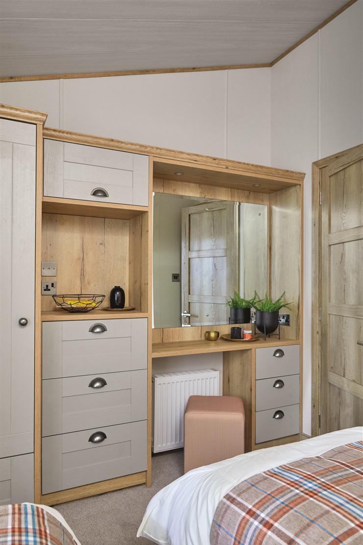 New 2021 ABI Harrogate Lodge 41ft x 20ft - 2 - master bedroom alternate view