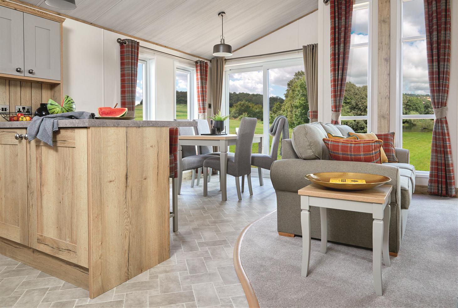 New 2021 ABI Harrogate Lodge 41ft x 20ft - 2 - open plan living