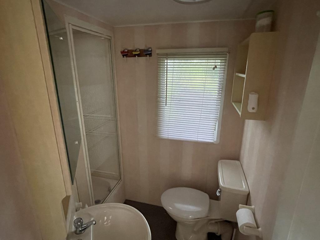 Preowned 2011 Willerby Westmorland 35ft x 12ft - 2 Bedroom Static Caravan Holiday Home - Bryn Defaid Lodge & Caravan Park, Llanddulas Nr Abergele, North Wales - Master Bedroom